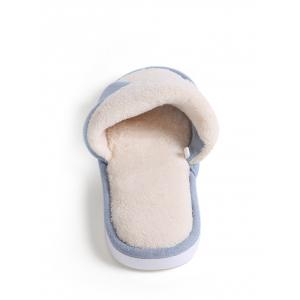 Chaussons Fluffy Faux Shearling - Bleu Taille(36-37)