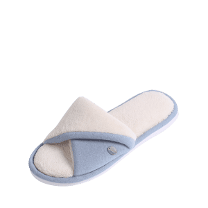 Chaussons Fluffy Faux Shearling - Bleu Taille(38-39)