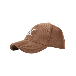 Outdoor Letter Embroidery Corduroy Baseball Cap -