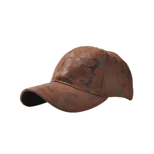 Outdoor Camouflage Pattern Baseball Hat - COFFEE