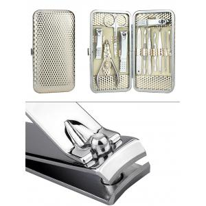 12PCS Stainless Steel Nail Clipper Set -