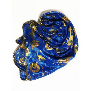 Gilding Decorated Halloween Scarf -