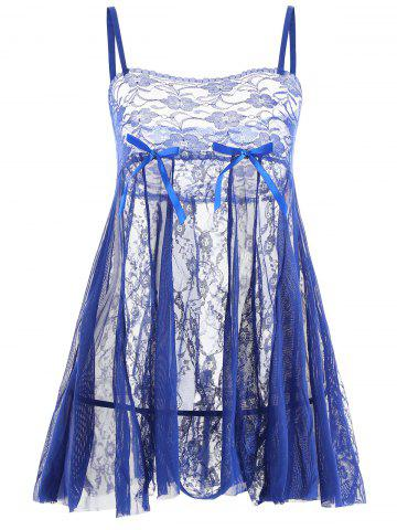 Discount Lace Slip See Thru Babydoll