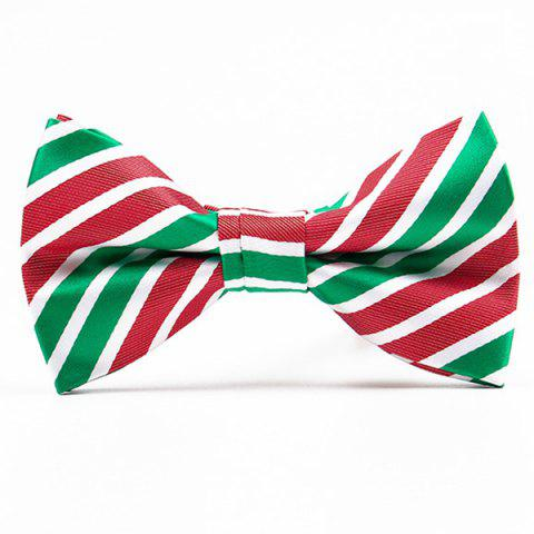 Unique Christmas Festive Jacquard Bow Tie