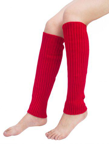 Shops Vertical Striped Pattern Knitted Leg Warmers