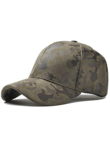 Outfit Outdoor Camouflage Pattern Baseball Hat