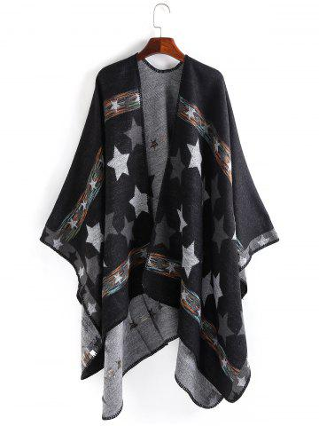 Outfit Stars Pattern Design Thicken Pashmina