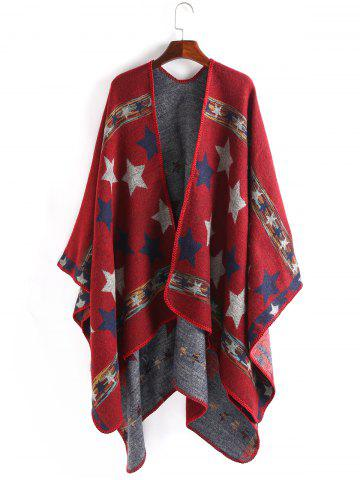 Chic Stars Pattern Design Thicken Pashmina