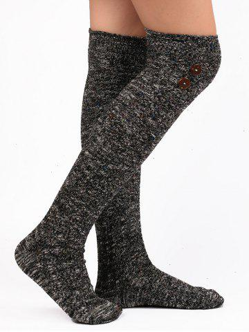 Hot Button Knitted Stockings