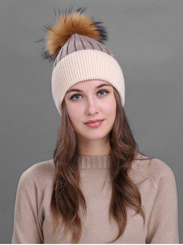 Affordable Vintage Fuzzy Ball Embellished Slouchy Beanie