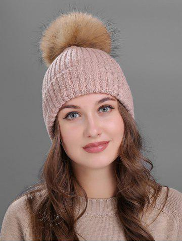 Shop Outdoor Crochet Flanging Pom Ball Knitting Beanie