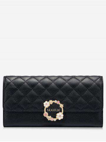 Affordable Quilted Floral Wallet