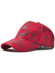 Outdoor Camouflage Pattern Baseball Hat -