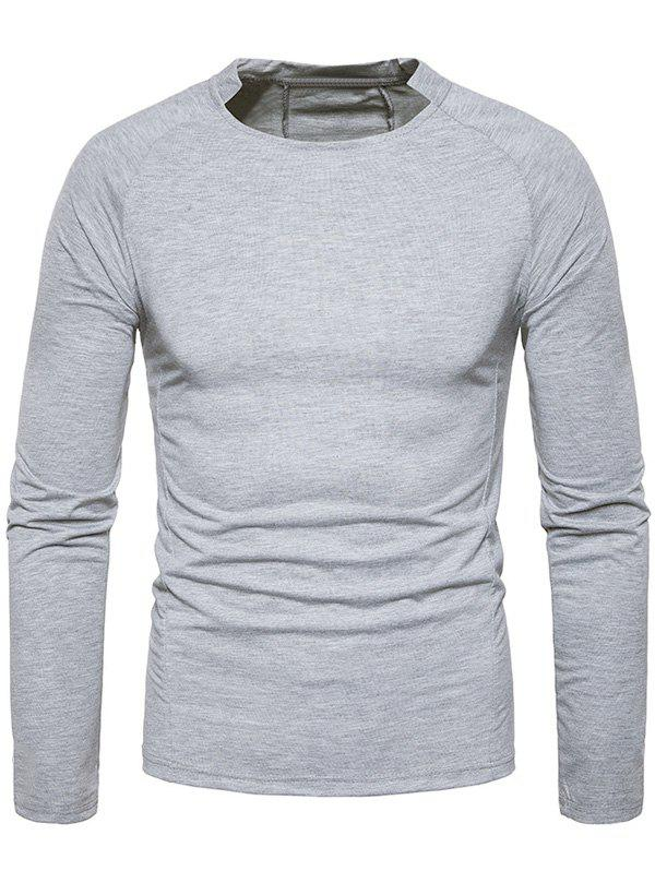 Store Classical Crew Neck Raglan Sleeve T-shirt