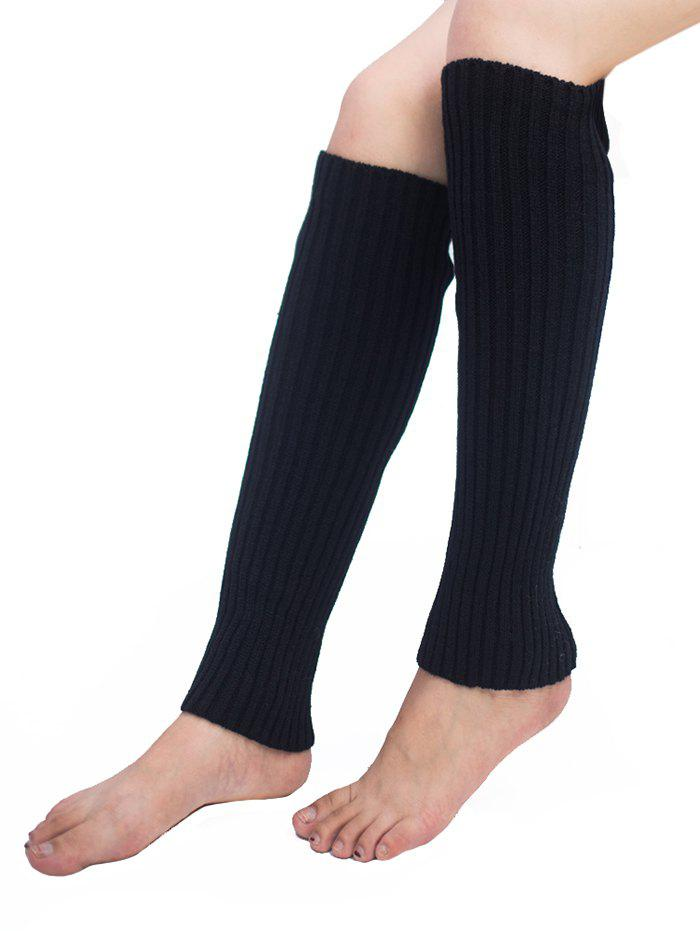 Cheap Vertical Striped Pattern Knitted Leg Warmers