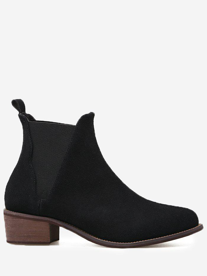 Shop Elasticized Panels Slip On Ankle Boots