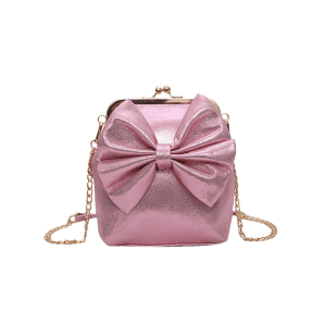 Chain Bowknot Crossbody Bag -