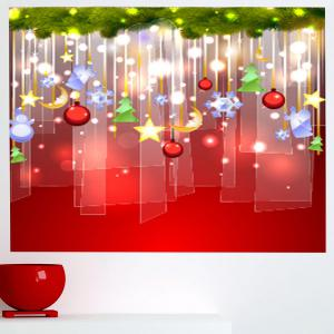 Chrismas Gifts Home Sticker Mural -