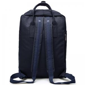 Car Letter Embroidery School Backpack - BLUE VERTICAL