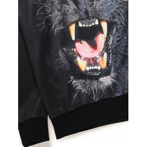Sweat-shirt imprimé animal 3D -