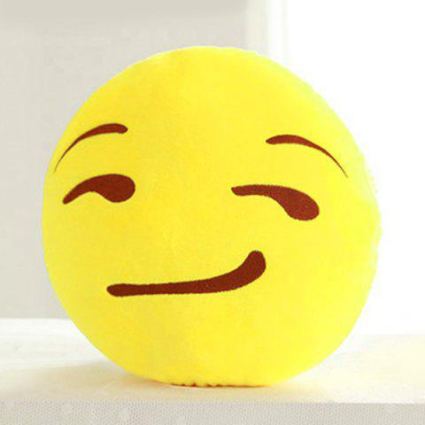 Latest Cartoon Smile Face Emoticon Pattern Pillow Case