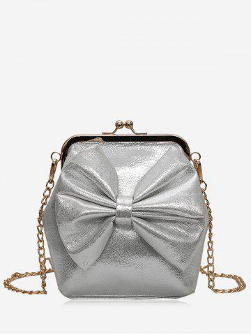 Outfit Chain Bowknot Crossbody Bag