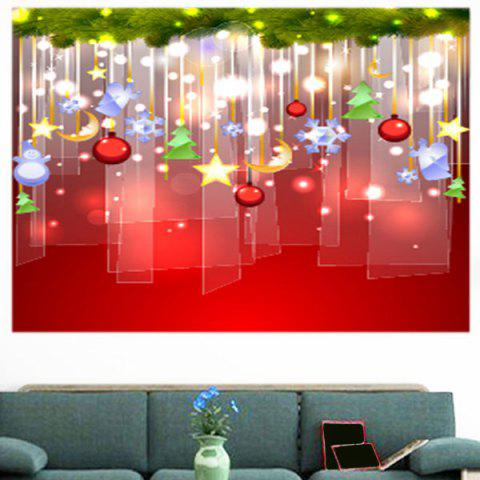 Chrismas Gifts Home Sticker Mural Coloré