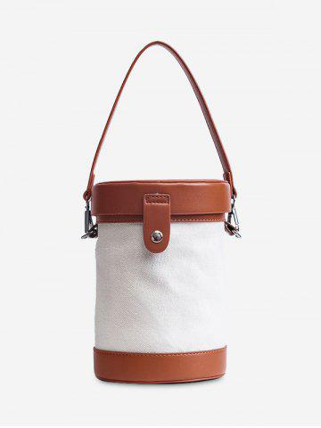 Shop Color Block Cylinder Shaped Crossbody Bag