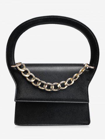 Buy Chain PU Leather Handbag With Strap