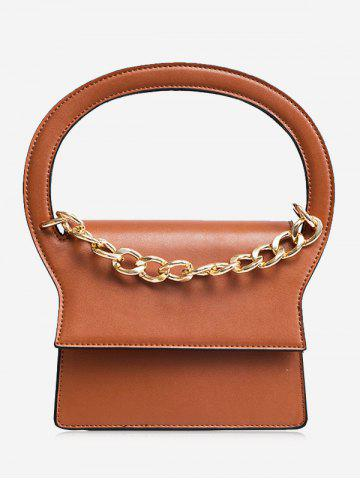 Cheap Chain PU Leather Handbag With Strap