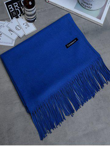 Unique Soft Artificial Cashmere Fringed Long Scarf
