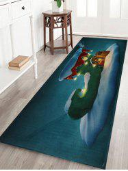 Tapis de bain antidérapant Christmas Boot House -