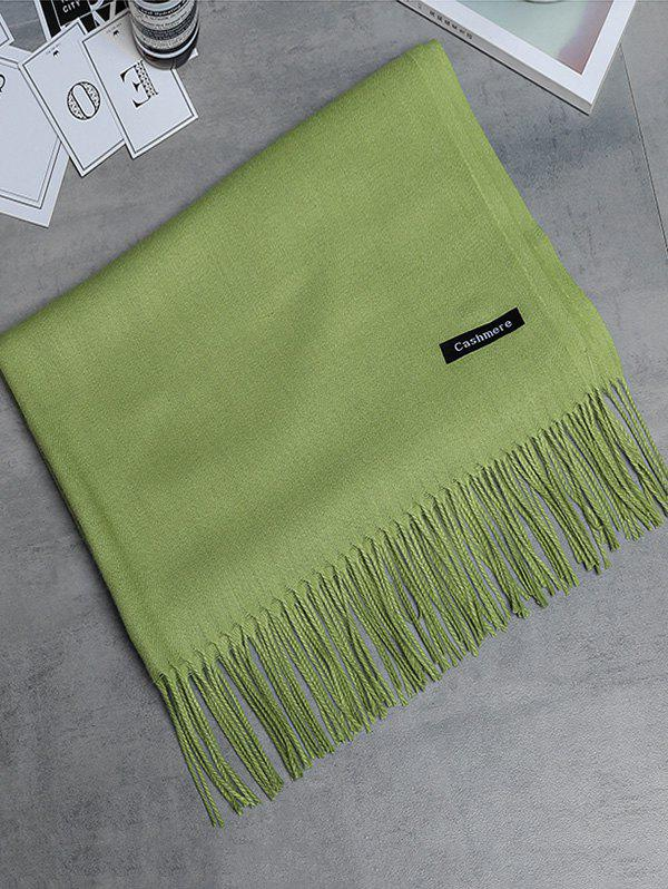 Fashion Soft Artificial Cashmere Fringed Long Scarf