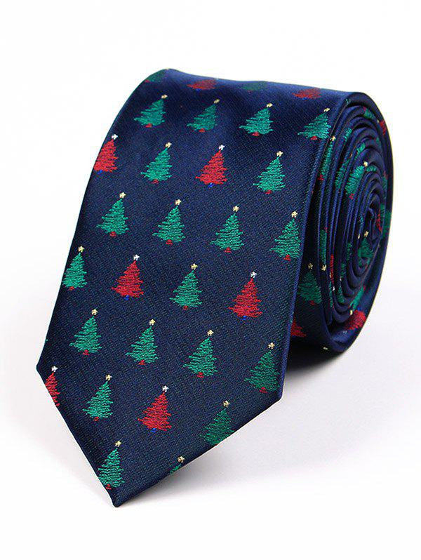 Hot Christmas Element Pattern 7.5CM Width Tie