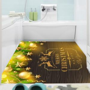 Multifunction Golden Baubles Pattern Wall Sticker - GOLDEN 1PC:24*47 INCH( NO FRAME )