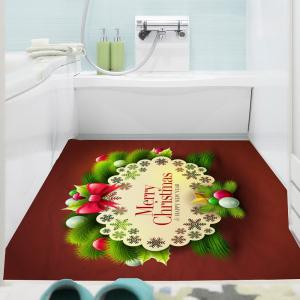 Merry Christmas Graphic Pattern Multifunction Decorative Wall Sticker - COLORFUL 1PC:24*24 INCH( NO FRAME )