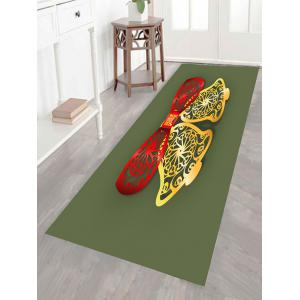 Christmas Bells Cut Print Multifunction Wall Art Painting - RED + GREEN + YELLOW 1PC:24*47 INCH( NO FRAME )