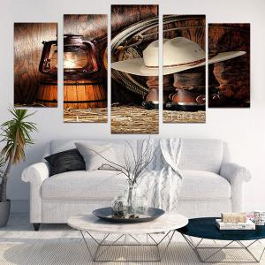 West Cowboy Suits Printed Unframed Canvas Paintings -