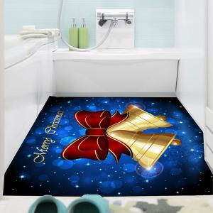 Christmas Bells Patterned Multifunction Wall Art Painting - BLUE AND YELLOW 1PC:24*24 INCH( NO FRAME )