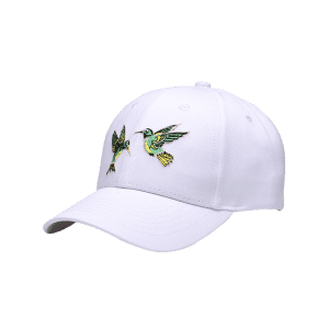 Flying Bird Embroidery Decorated Baseball Hat -
