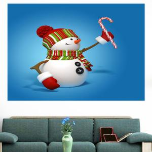 Christmas Snowmen Pattern Multifunction Wall Sticker -