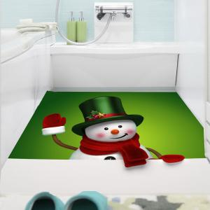 Multifunction Christmas Snowman Patterned Wall Sticker -