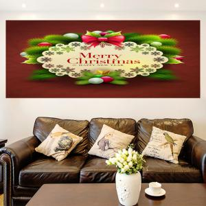 Merry Christmas Graphic Pattern Multifunction Decorative Wall Sticker -