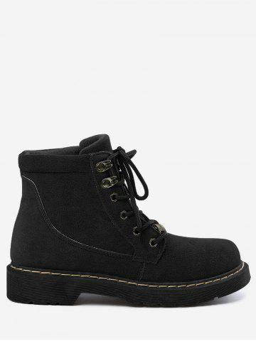 Best Stitching Ankle Lace Up Boots