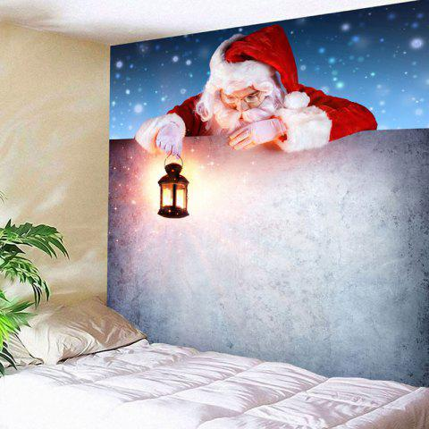 Best wall decor santa claus print christmas tapestry