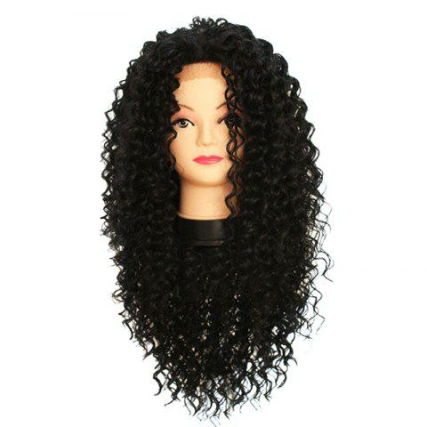 Latest Long Free Part Curly Synthetic Lace Front Wig