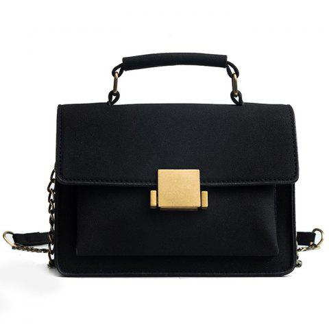 Outfit PU Leather Crossbody Bag With Handle