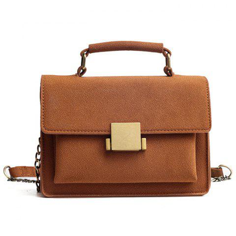 Affordable PU Leather Crossbody Bag With Handle