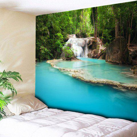 Online Wall Hanging Landscape Pattern Tapestry - W79 INCH * L59 INCH COLORMIX Mobile