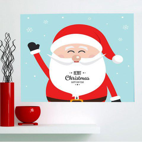 Online Happy Santa Claus Patterned Multifunction Wall Art Painting